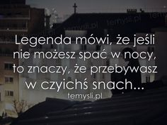 Ale ze tak można co noc? Sad Quotes, Words Quotes, Life Quotes, Inspirational Quotes, Big Words, Different Quotes, More Than Words, True Words, In My Feelings