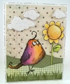 Bird Crazy Spring by jaydekay - Cards and Paper Crafts at Splitcoaststampers
