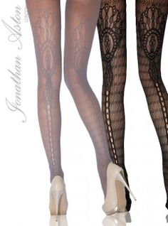 Jonathan Aston Tights, Stockings & Hold Ups At Earth's Largest Pretty Outfits, Beautiful Outfits, Pretty Clothes, Fashion Tights, Fashion Outfits, Fashion Trends, Tight Leggings, Leggings Are Not Pants, Cool Tights
