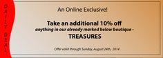 Find your treasure...