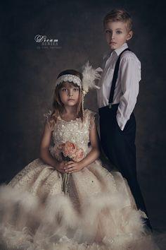 Classic Child Studio Portraits by Nikki Harrison