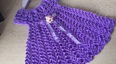 tutoriales de capellinas para nenas tejidas a crochet - YouTube