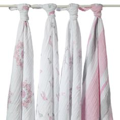 Someone told me these are the absolute best baby blanket for swaddling. Buy and divide? Aden + Anais Muslin Baby Wraps 4 Pack For The Birds Swaddle 2035 Muslin Blankets, Muslin Swaddle Blanket, Swaddle Wrap, Swaddling Blankets, Baby Swaddle, Receiving Blankets, Baby Body Temperature, Portable Crib, Stroller Cover