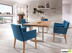 Stół dębowy PERGO 180 cm, 200 cm lub 220 cm - sklep meblowy Dining Chairs, Furniture, Home Decor, Decoration Home, Room Decor, Dining Chair, Home Furnishings, Home Interior Design, Dining Table Chairs