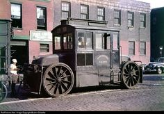 Buckwalter trackmobile built in 1912, on PRR industrial trackage...