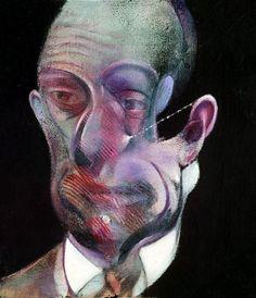 FRANCIS BACON Study for Portrait (Michel Leiris), 1978 Medium Oil and aerosol paint on canvas Dimensions 14 x 12 in. (35.5 x 30.5cm) Collection Centre Georges Pompidou, Musée d Art Moderne, Paris