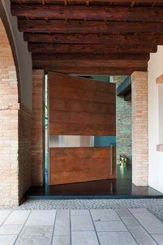 #HomeOwnerBuff Cor-ten door