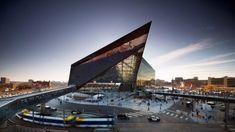 Angular stadium for Minnesota Vikings will host the 52nd Super Bowl