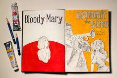 Piirroskirja #sketchbook by Petri Fills