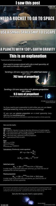 Some Interstellar science