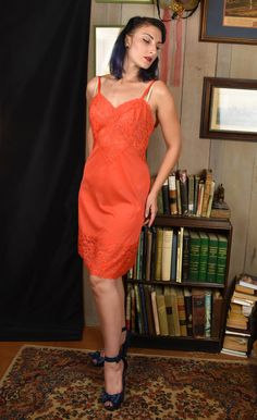 vintage 1980s cropped red lace camisole and slip set  80s lace top stretch mesh back and half slip set small