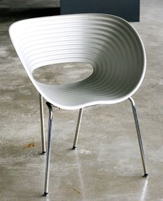 Rare Aluminum Tom Vac Chair Designed by Ron Arad | From a unique collection of antique and modern chairs at https://www.1stdibs.com/furniture/seating/chairs/