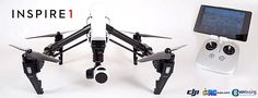 """There's no denying that the Inspire 1 is DJI's current flagship multirotor; it sports a number of firsts from the company including a sonar positioning system, 4K video camera, optional dual controllers with HD downlink, and a unique transforming frame that raises the carbon arms up and out of the camera's field of view. Together, these features come together in what DJI calls """"everything you need for aerial filmmaking, integrated into an elegant, ready-to-fly system."""""""