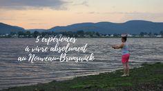 Le Nouveau-Brunswick explose d'expériences géniales à y vivre: taquiner les abeilles, fabriquer une mouche, descendre une rivière et j'en passe!
