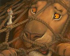 THE LION AND THE MOUSE BY SCOTT GUSTAFSON