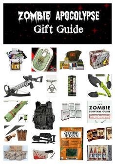 The Zombie Apocalypse Gift Guide