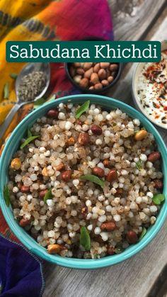 Vegan Fast Food, Tasty Vegetarian Recipes, Spicy Recipes, Cooking Recipes, Chaat Recipe, Indian Dessert Recipes, Breakfast Recipes, Sabudana Khichdi, Indian Street Food