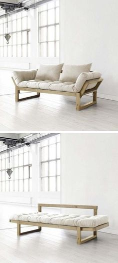 There are a number of kinds of contemporary sofa in the furniture industry. Generally, every sofa design is offered in an assortment of a variety of sizes and configurations to fit your needs. Wood Furniture, Furniture Design, Furniture Ideas, Small Space Furniture, Furniture Removal, Furniture Stores, Sofa Design, Interior Design, Diy Sofa