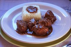 Kitchen Stories: Pork Chunks in Red Wine Kitchen Stories, Red Wine, Steak, Pork, Cooking Recipes, Meals, Kale Stir Fry, Food Recipes, Meal