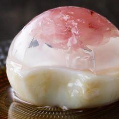 Cherry Blossom Raindrop Cake Recipe by Tasty