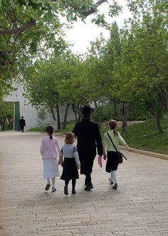 Yad Vashem, Avenue of the Righteous Among the Nations, summer 2010. Trees have been planted around the Yad Vashem site in honor of those non-Jews who acted according to the most noble principles of humanity by risking their lives to save Jews during the Holocaust