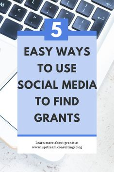 Did you know social media is a great tool for finding grants? It can also help you write better grant proposals! Click through to read 5 ways you can use social media to find and win grants. Grant Proposal Writing, Grant Writing, Nonprofit Fundraising, Fundraising Ideas, Donation Request, Grant Money, Foundation Grants, Research Grants, Non Profit