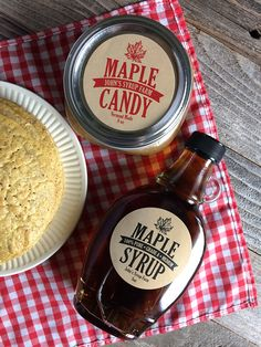 custom kraft traditional maple syrup labels - The world's most private search engine Maple Syrup Taps, Maple Syrup Bottles, Canning Jar Labels, Bottle Labels, Maple Syrup Recipes, Jelly Jars, Mason Jar Gifts, Printing Labels, As You Like