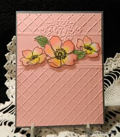 FS324 Fab Pink Florets by vdm - Cards and Paper Crafts at Splitcoaststampers