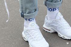 J'aime tout chez toi - Gosha Rubchinskiy socks & Air max Tn sneakers