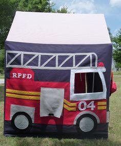 Tafeltent brandweer