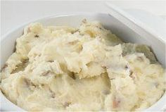 Easy home made mashed potatoes