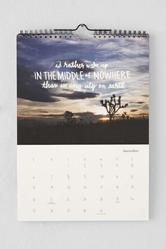 27 Clever Calendars To Help You Stick To Your Resolutions All Year