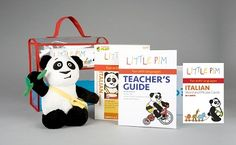 EMC Publishing's Little Pim Italian: Teacher's Kit Plus, Volume 1. Little Pim is an effective, fun, and affordable way to teach a child a world language at the age when the brain is hardwired for language acquisition. This award-winning series uses the Entertainment Immersion Model, combining animation with footage of kids doing every day activities, while introducing more than 180 words.