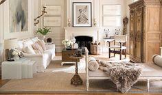 Tara Shaw's Living Room via Veranda