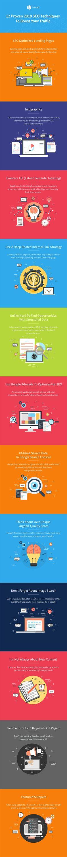 12 Proven 2018 SEO Techniques to Boost Your Traffic [Infographic] #searchengineoptimization2018, #searchengineoptimizationtechniques,