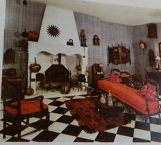 1970's Home Decorating