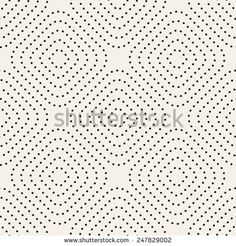 Seamless pattern. Stylish texture with dotted smooth squares. Vector repeating background