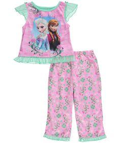 Nickelodeon Sunny Day Disney Sunny 2 piece girls sleepwear Pajamas Miss 6//6X