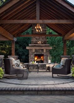 Rustic Backyard Wicked Rustic Patio Ideas For A Lovely Day Outside. 18 Startling Rustic Patio Designs To Enjoy The Nature Even . 15 Refreshing Outdoor Patio Designs For Your Backyard. Home and Family Outdoor Living Rooms, Outside Living, Outdoor Spaces, Outdoor Patios, Outdoor Covered Patios, Covered Outdoor Kitchens, Outdoor Life, Outdoor Seating, Outdoor Dining