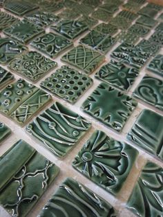 green glazed tiles 2