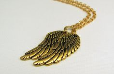 Wings Necklace in Gold