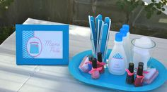 Spa Birthday Party Ideas | Photo 1 of 25 | Catch My Party