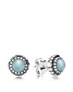 """""""PANDORA Earrings - Sterling Silver"""" These have such a sweet look to them Could really use some new studs after losing my favorites down the drain"""