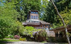 Peek Inside This $875K Island Treehouse Near Seattle | Apartment Therapy