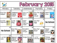 February Daily Art Plans, Classroom Organization, and Our Blog Hop Kicks Off!