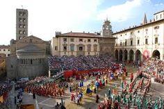 Giostra del #Saracino, #Arezzo #Italy #Tradition