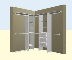 DIY walk in closets | DIY-ista: Walk in Closet - Day #2