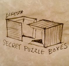 How To: Make A Simple Wooden Puzzle Storage Box