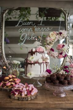 le bianche margherite: a birthday cake topper for Gala
