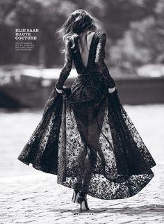 Daniela De Jesus Cosio by Benjamin Kanarek for Elle Vietnam October 2014 - Elie Saab Haute Couture
